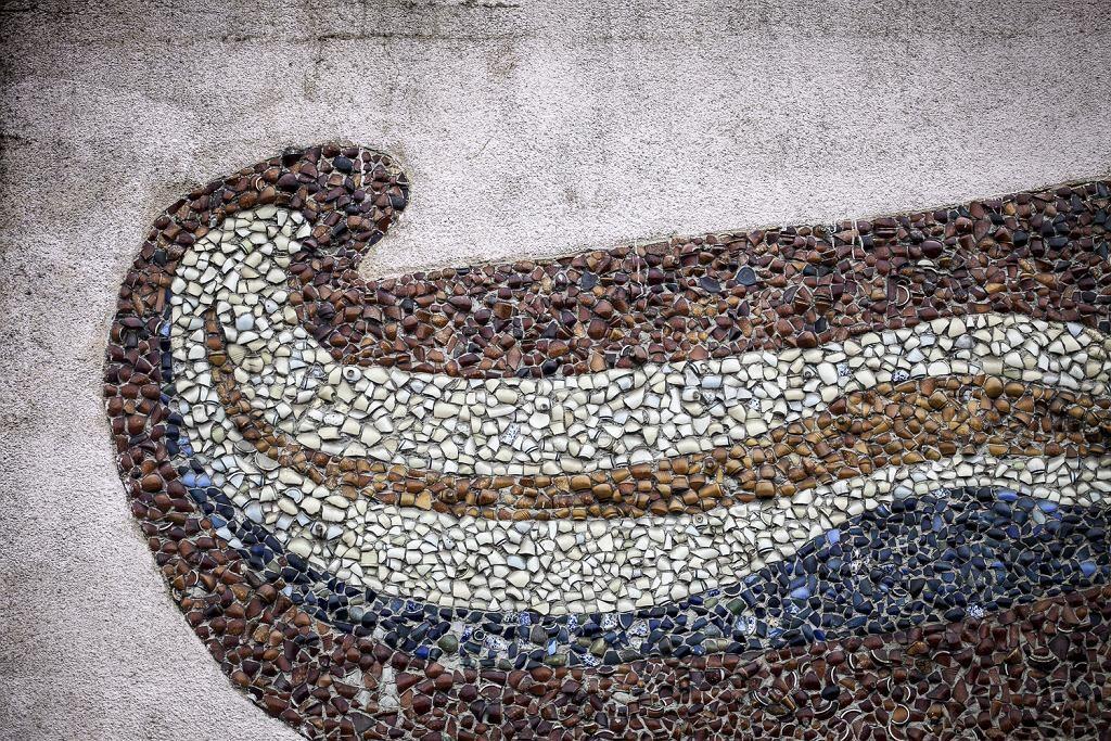 Mozaiki ze stłuczek z Tłuszczańskiej Fabryki Szkła Tomasz Kaczor