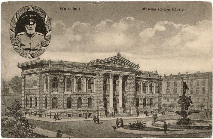 Gmach Towarzystwa Sztuk Pięknych w Warszawie.